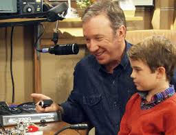 Tim Allen is a licensed amateur radio operators. In fact, most of the crew for Last Man Standing are licensed HAMs.